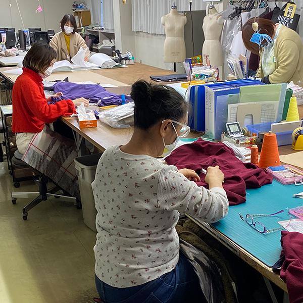 縫製職人の画像